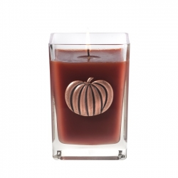 12 oz Glass Cube Candle